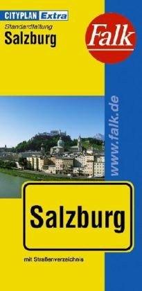 Salzburg várostérkép - Falk