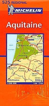 Aquitaine - Michelin 524