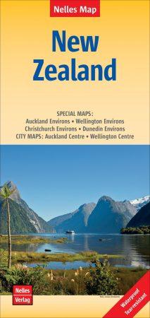 Új-Zéland térkép - Nelles