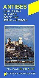 Antibes várostérkép - Grafocarte