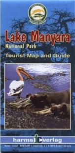 Manyara-tó térkép - Herms