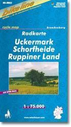 Uckermark kerékpártérkép - (RK-BRA 2)