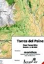 Torres del Paine térkép (2) - Aoneker