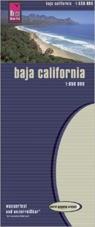 Baja California térkép - Reise Know-How