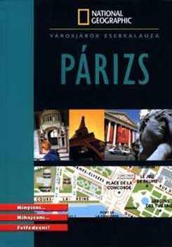 Párizs zsebkalauz - National Geographic