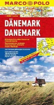 Dánia térkép - Marco Polo