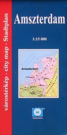 Amszterdam várostérkép - Falk & Térképvilág