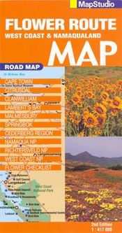 Flower Route: West Coast and Namaqualand térkép - Map Studio