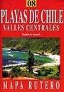 Playas de Chile - Valles Centrales térkép - JLM Mapas