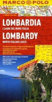 Lombardia térkép - Marco Polo