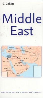 Közel-Kelet térkép - Collins