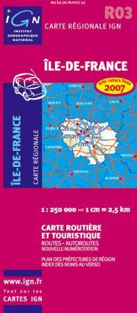 Ile-de-France - IGN R03