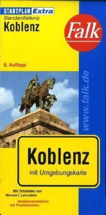 Koblenz Extra várostérkép - Falk