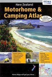 Új-Zéland Camping & Motorhome atlasz - Hema