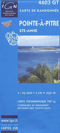Pointe-à-Pitre / Ste-Anne - IGN 4603GT