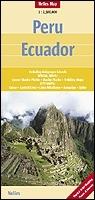 Peru, Ecuador térkép - Nelles