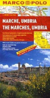 Marche / Umbria térkép - Marco Polo