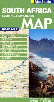 Dél-Afrika térkép - Map Studio