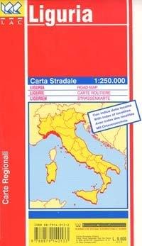 Liguria autótérkép - LAC