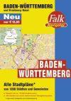 Baden-Württemberg minden városa atlasz - Falk