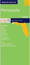 Pensacola, FL térkép - Rand McNally