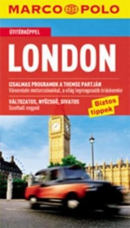 London, guidebook in Hungarian - Marco Polo