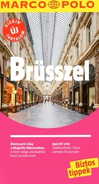 Brussels, guidebook in Hungarian - Marco Polo