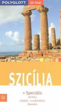 Sicily, guidebook in Hungarian - Polyglott