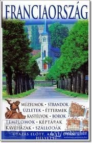 France, guidebook in Hungarian - Útitárs