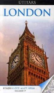 London, guidebook in Hungarian - Útitárs