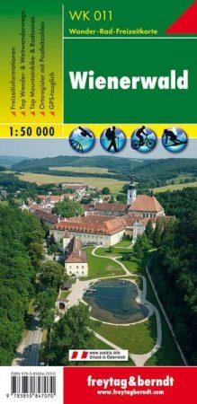 Bécsi-erdő turistatérkép (WK 011) - Freytag-Berndt