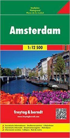 Amszterdam várostérkép - Freytag-Berndt