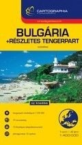 Bulgária + részletes tengerpart - Cartographia