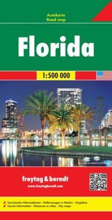Florida autótérkép - Freytag-Berndt