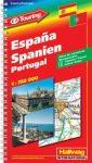 Spanyolország atlasz - Hallwag