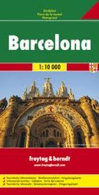 Barcelona, city map - Freytag-Berndt