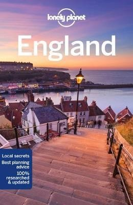 England, guidebook in English - Lonely Planet