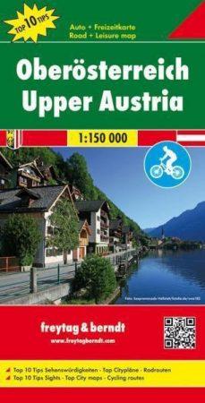 Felső-Ausztria autótérkép - Freytag-Berndt Top 10 Tips