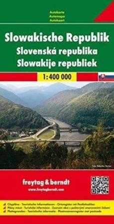 Szlovákia autótérkép (1:400000) - Freytag-Berndt