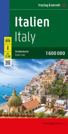Olaszország autótérkép (1:600000) - Freytag-Berndt
