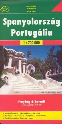 Spanyolország és Portugália autótérkép (1:700000) - Freytag-Berndt