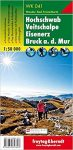 Hochschwab, Veitschalpe, Eisenerz & Bruck a.d.Mur, hiking map (WK 041) - Freytag-Berndt