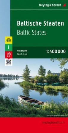 Balti államok autótérkép - Freytag-Berndt