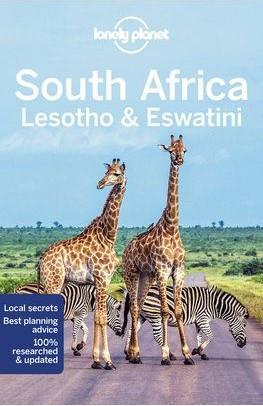 Dél-Afrika, Lesotho & Szváziföld, angol nyelvű útikönyv - Lonely Planet