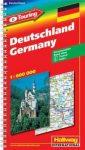 Németország atlasz - Hallwag