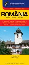 Romania, road map - Cartographia