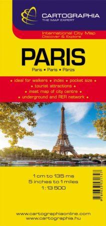 Párizs várostérkép - Cartographia
