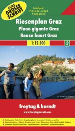 Graz óriásatlasz - Freytag-Berndt