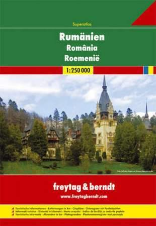 Románia szuperatlasz - Freytag-Berndt