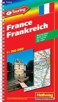 Franciaország atlasz - Hallwag